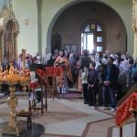 Богослужение в день празднования 71-годовщины Победы в Великой Отечественной войне