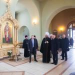 Троицкий храм посетил представитель Президента Российской Федерации в Центральном федеральном округе